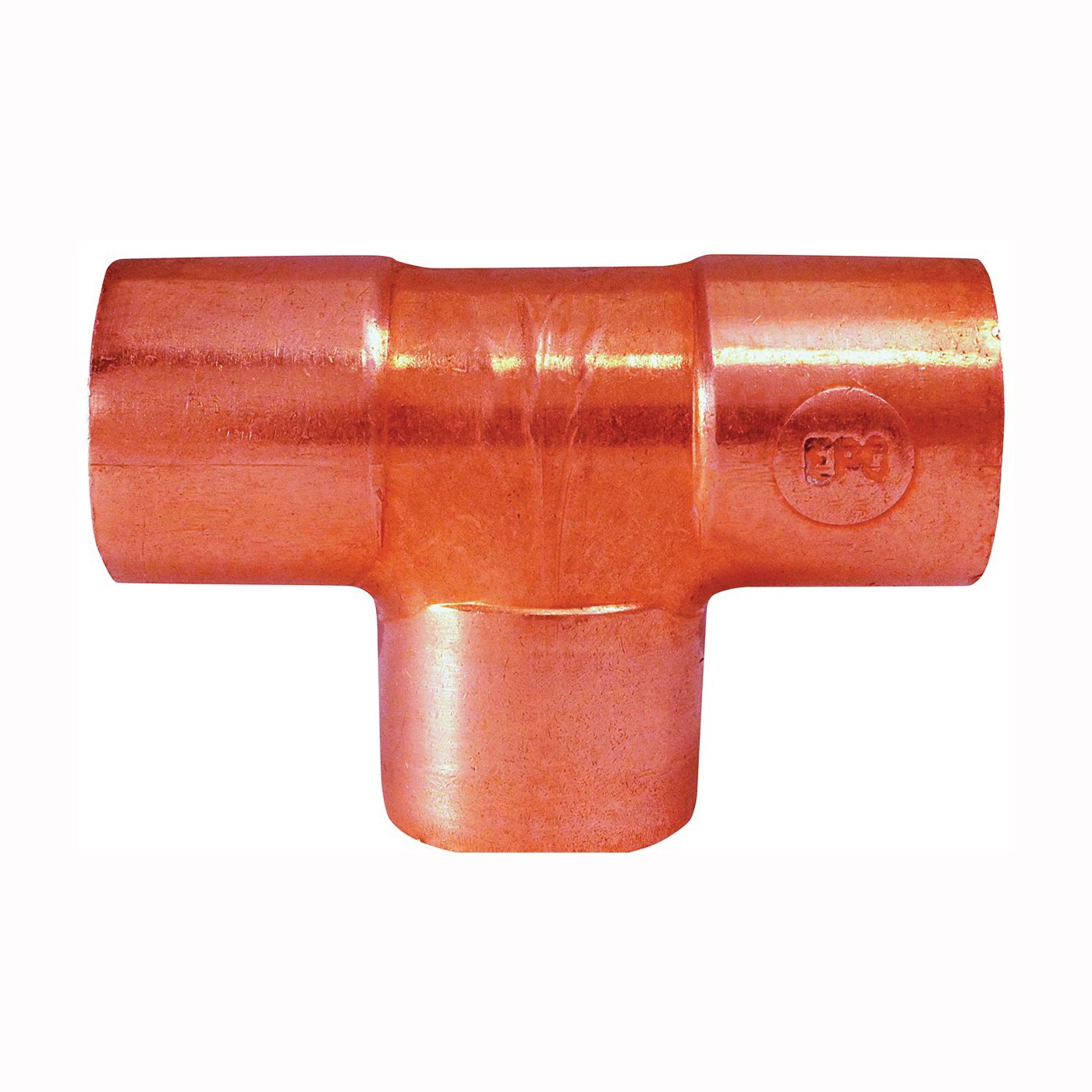 Picture of EPC 80010 Pipe Tee, 3/4 in, Sweat, Copper