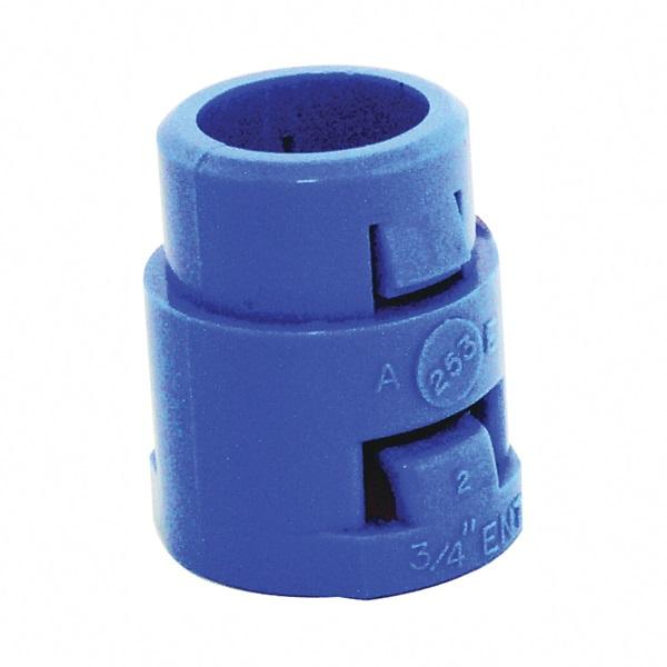 Picture of Carlon A253E-CAR Terminal Adapter, 3/4 in Trade, 1.406 in L, PVC, Blue