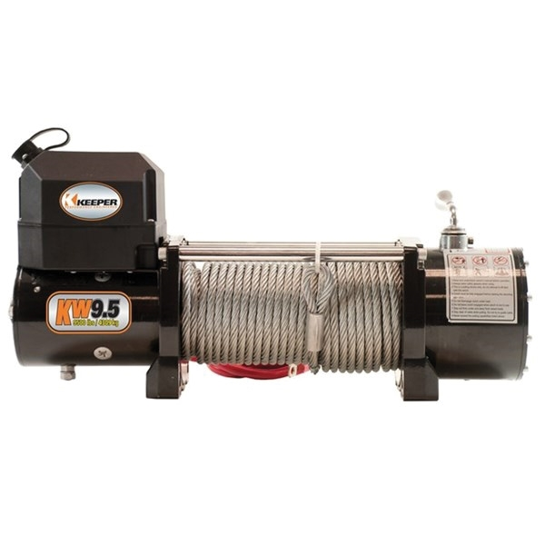 Picture of KEEPER KW95122 Electric Winch, 12 VDC, 9500 lb