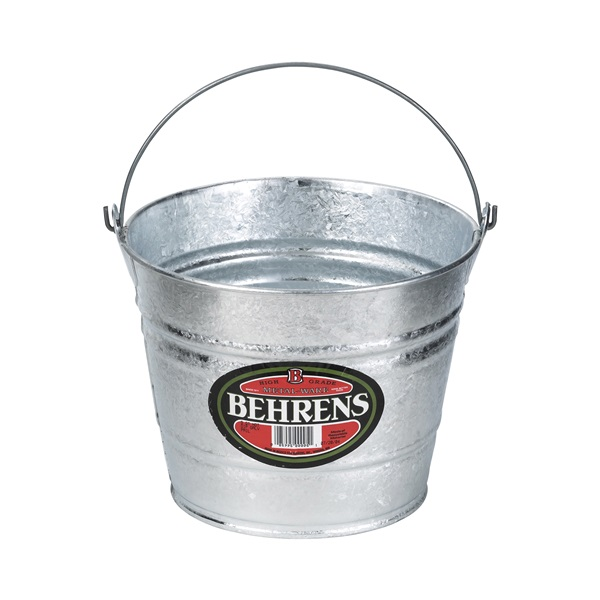Picture of Behrens 1208 Pail, 8 qt Capacity, Steel