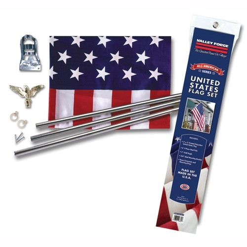 Picture of Valley Forge AA-US1-1 USA Flag Kit, Polycotton