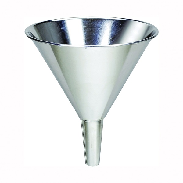 Picture of Behrens B35 Funnel, 1.75 qt Capacity, Tin, 8 in H