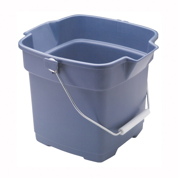 Picture of Rubbermaid Roughneck FG296400ROYBL Utility Bucket, 12 qt Capacity, Polyethylene, Royal Blue