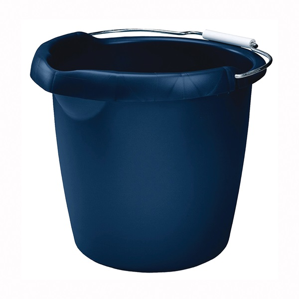 Picture of Rubbermaid Roughneck FG296900ROYBL Utility Bucket, 15 qt Capacity, Plastic, Royal Blue