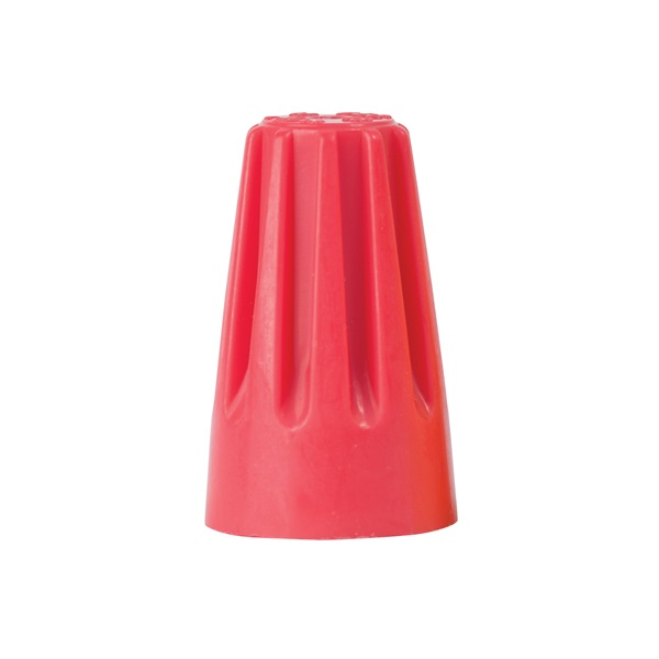 Picture of GB WireGard 25-006 Wire Connector, 18 to 10 AWG Wire, Steel Contact, Polypropylene Housing Material, Red