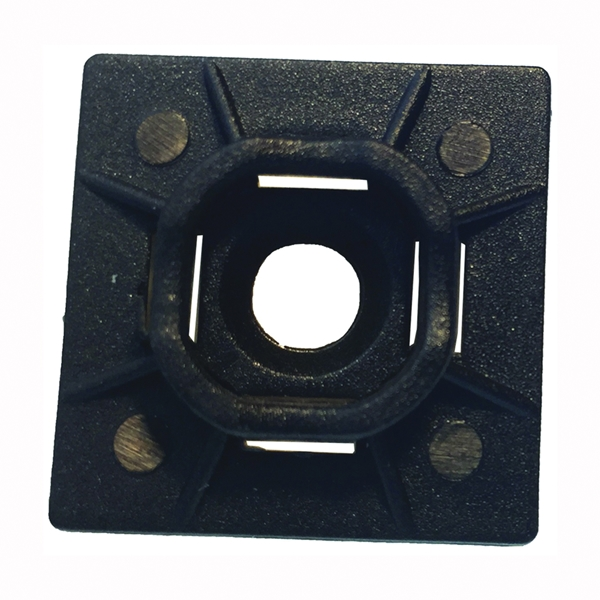 Picture of GB 45-MBUVB Cable Tie Mounting Base, Nylon, Black