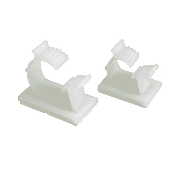 Picture of GB GKK-1575 Cable Holder, 3/4 in Max Bundle Dia, Nylon/Plastic, White