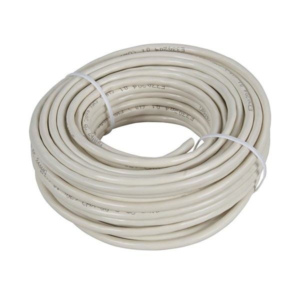 Picture of Zenith TP1050ULA Telephone Wire, 24 AWG Wire, Almond Sheath