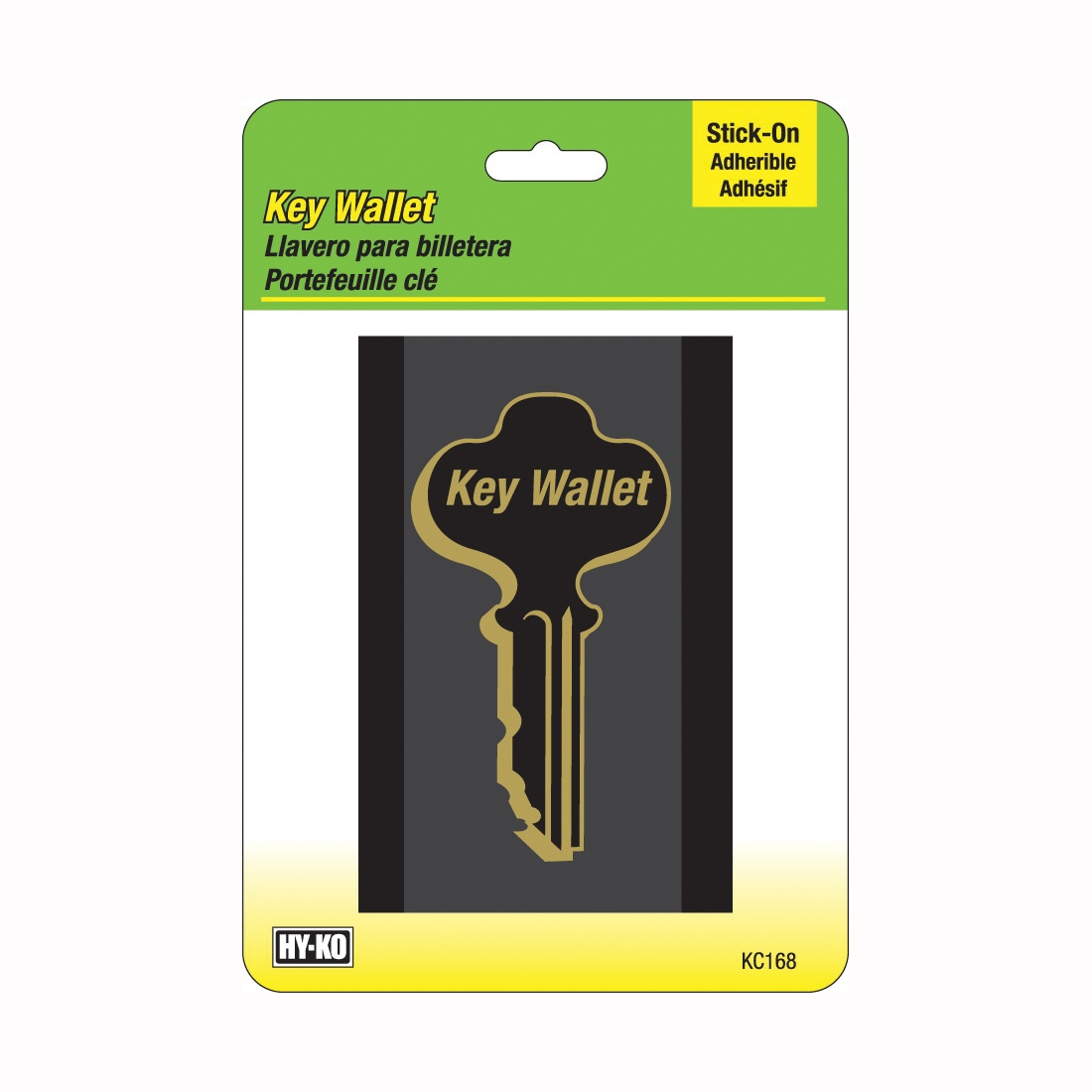 Picture of HY-KO KC168 Key Wallet, Plastic
