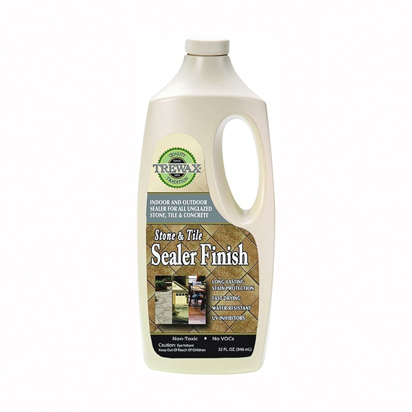 Picture of Trewax 887142027 Sealer Finish, 32 oz Package, Bottle, Liquid, Acrylic, Milky White