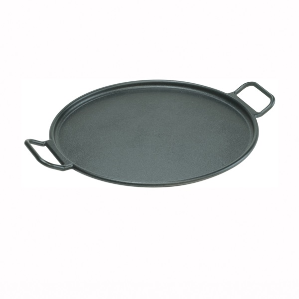 Picture of Lodge P14P3 Baking Pan, Round, 14 in Dia, 18.438 in L, 14-3/4 in W, Cast Iron, Black