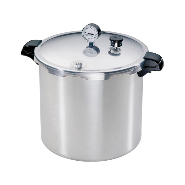 Picture of Presto 01781 Pressure Canner and Cooker, 23 qt Capacity, Aluminum