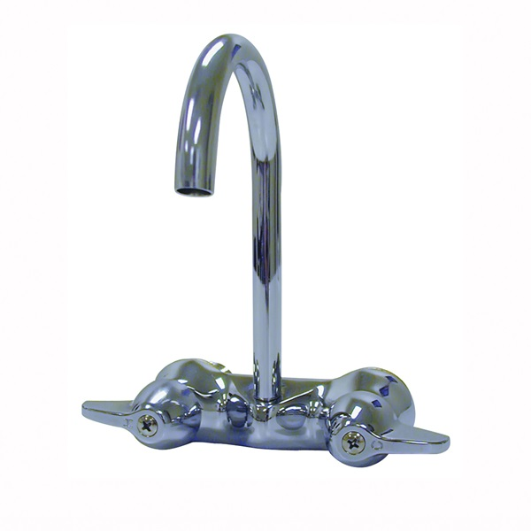 Picture of B & K 123-005 Bathroom Faucet, Chrome, High-Arc Spout
