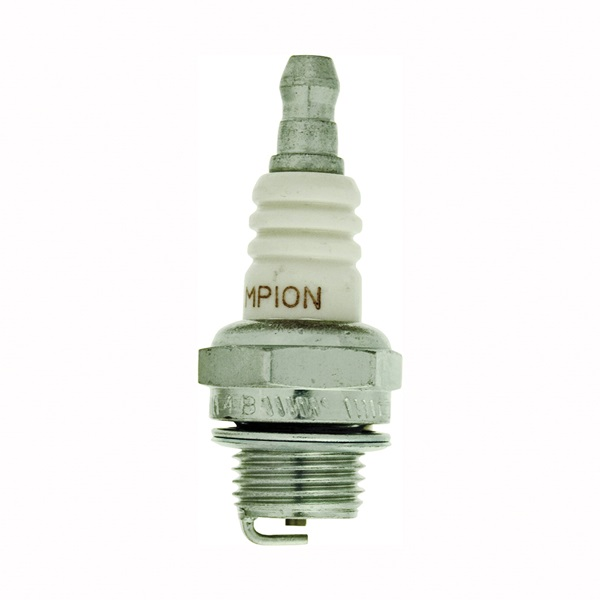 Picture of Champion CJ7Y Spark Plug, 0.017 to 0.023 in Fill Gap, 0.551 in Thread, 0.748 in Hex, Copper