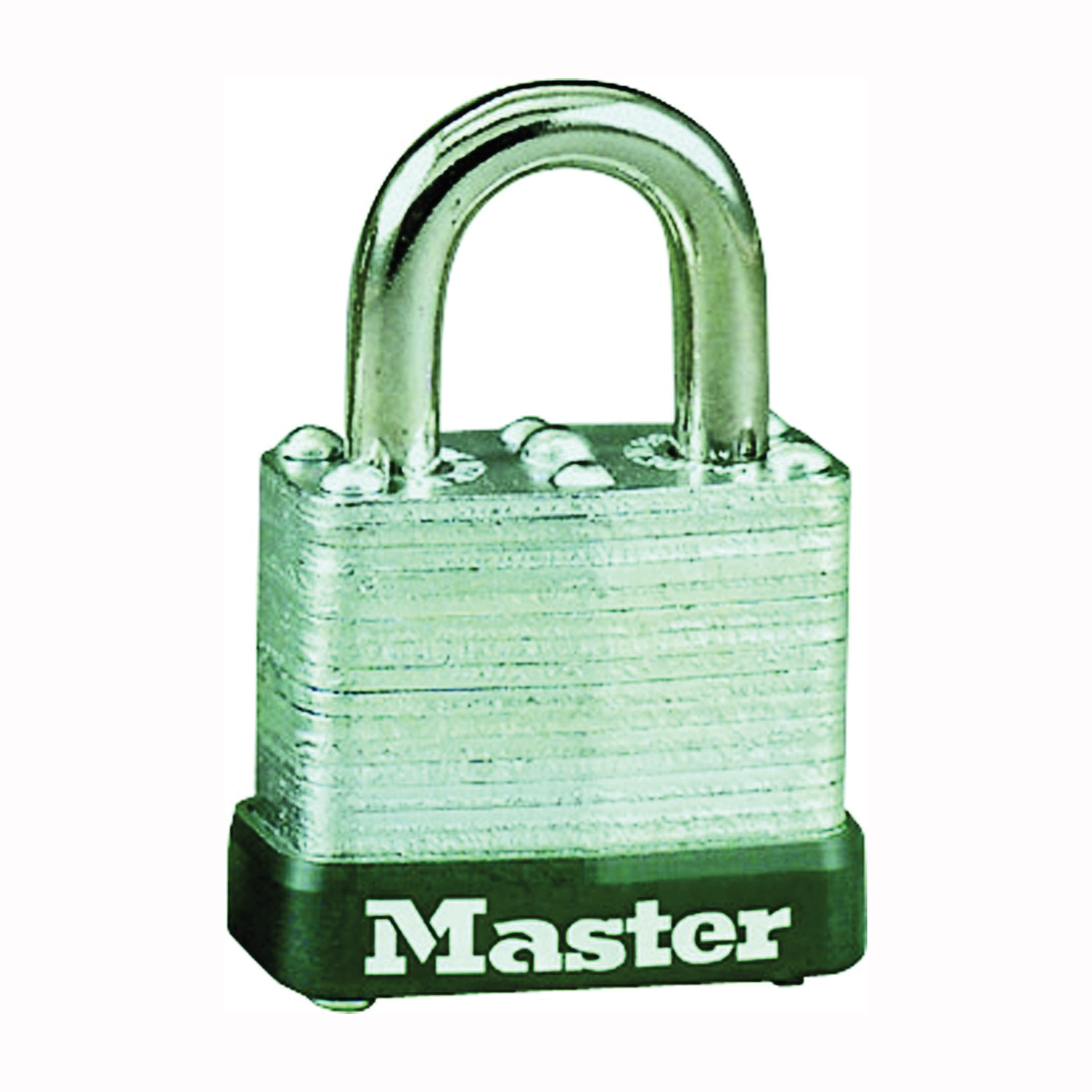 Picture of Master Lock 105D Padlock, Keyed Different Key, 3/16 in Dia Shackle, Steel Shackle, Steel Body, 1-1/8 in W Body