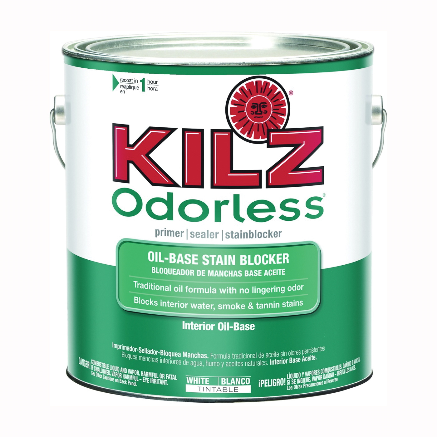 Picture of Kilz 10041 Primer, White, 1 gal, Can
