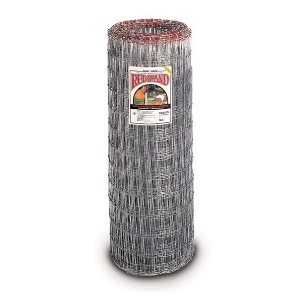 Picture of Red Brand Square Deal Tradition 70310 Non-Climb Horse Fence, 100 ft L, 48 in H, 2 x 4 in Mesh, 12-1/2 Gauge