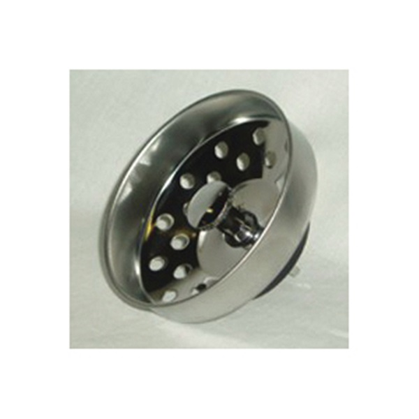 Picture of US Hardware P-608C Basket Strainer, Stainless Steel, Brushed Stainless Steel