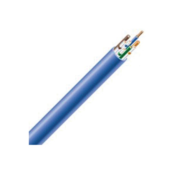 Picture of Southwire 56917749 Plenum Cable, 24 AWG Wire, 4-Conductor, Copper Conductor, FEP Insulation, PVC Sheath, 300 V