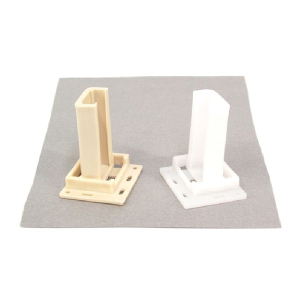 Picture of US Hardware WP-9871C Drawer Socket, Plastic, Beige/White, 2, Carded