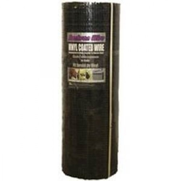 Picture of Jackson Wire 11 03 38 24 Hardware Cloth, 100 ft L, 36 in W, 19 Gauge, 1/2 x 1/2 in Mesh, Galvanized, Black