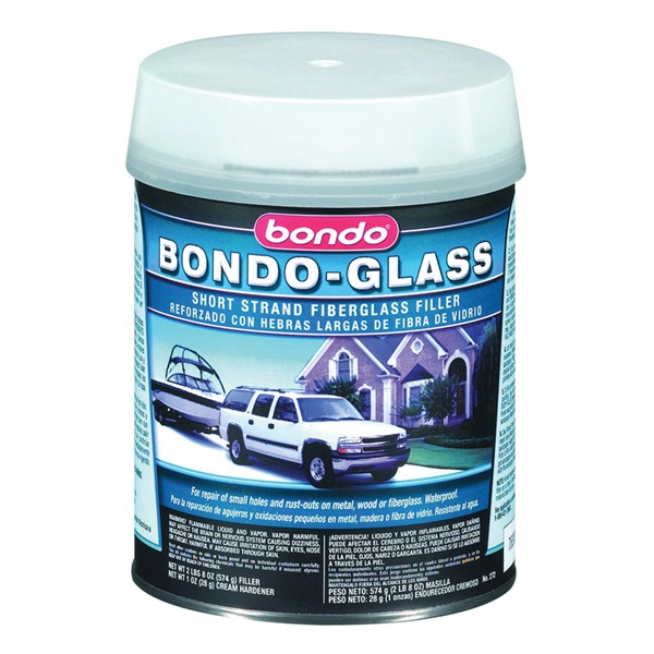 Picture of Bondo 272 Glass Reinforced Filler, 1 qt Package, Can, Paste, Pungent Organic