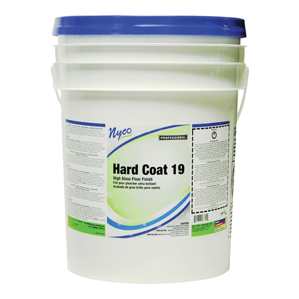 Picture of nyco NL167-P5 Floor Finish, 5 gal Package, Liquid, Acrylic, White