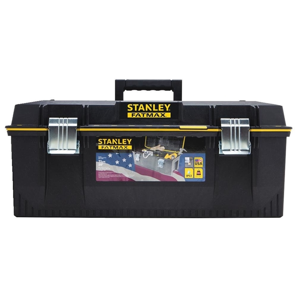 Picture of STANLEY FATMAX 028001L Tool Box, 9.2 gal, Structural Foam, Black/Yellow