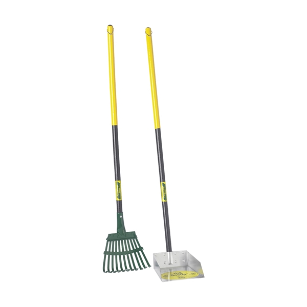 Picture of Flexrake 58W Scoop and Rake Set, Steel Blade