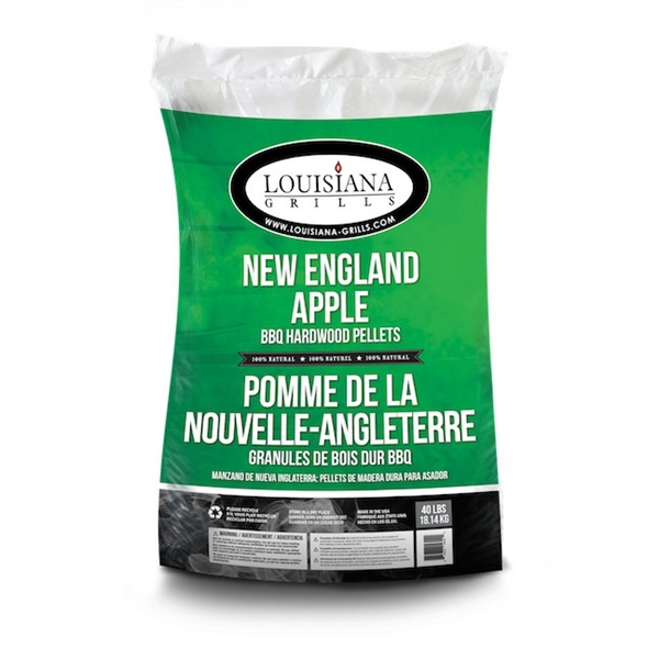 Picture of LOUISIANA GRILLS New England Apple 55403 Grill Pellet, 40 lb Package