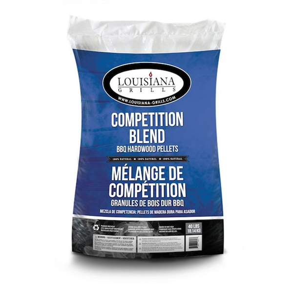 Picture of LOUISIANA GRILLS Competition Blend 55405 Grill Pellet, 40 lb Package