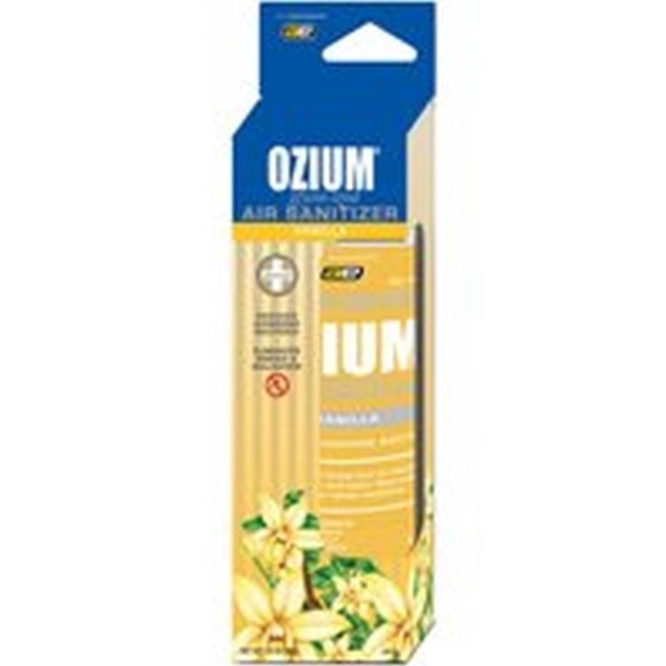 Picture of Auto Expressions Ozium OZM-23 Air Freshener, 3.5 oz Package, Aerosol Can, Vanilla