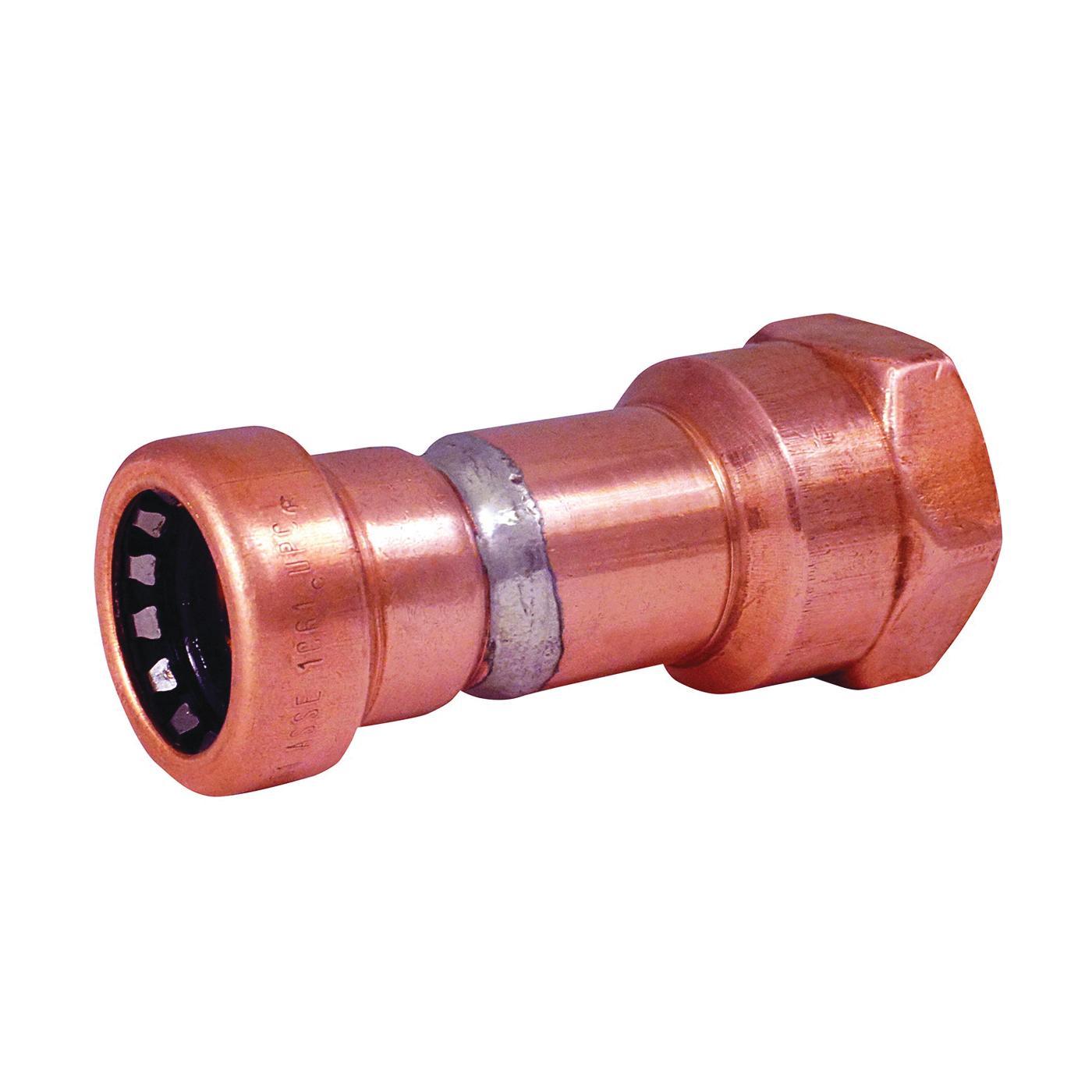 Picture of EPC 903 10170730 Push-Fit Adapter, 1/2 in, Sweat x Female, Copper, 200 psi Pressure