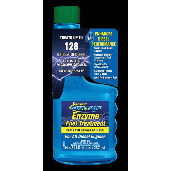 Picture of Star brite Star Tron 14408 Enzyme Fuel Treatment Clear, 8 oz Package, Bottle