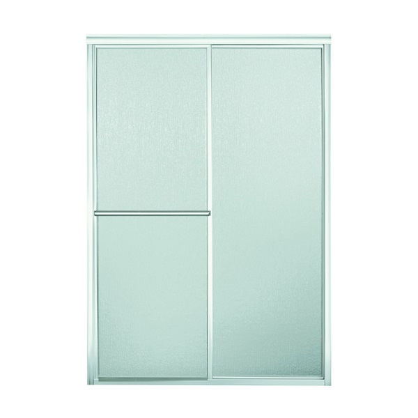Picture of Sterling SP5965-46S-G06 Shower Door, Rain Glass, Tempered Glass, Framed Frame, Aluminum Frame, Stainless Steel