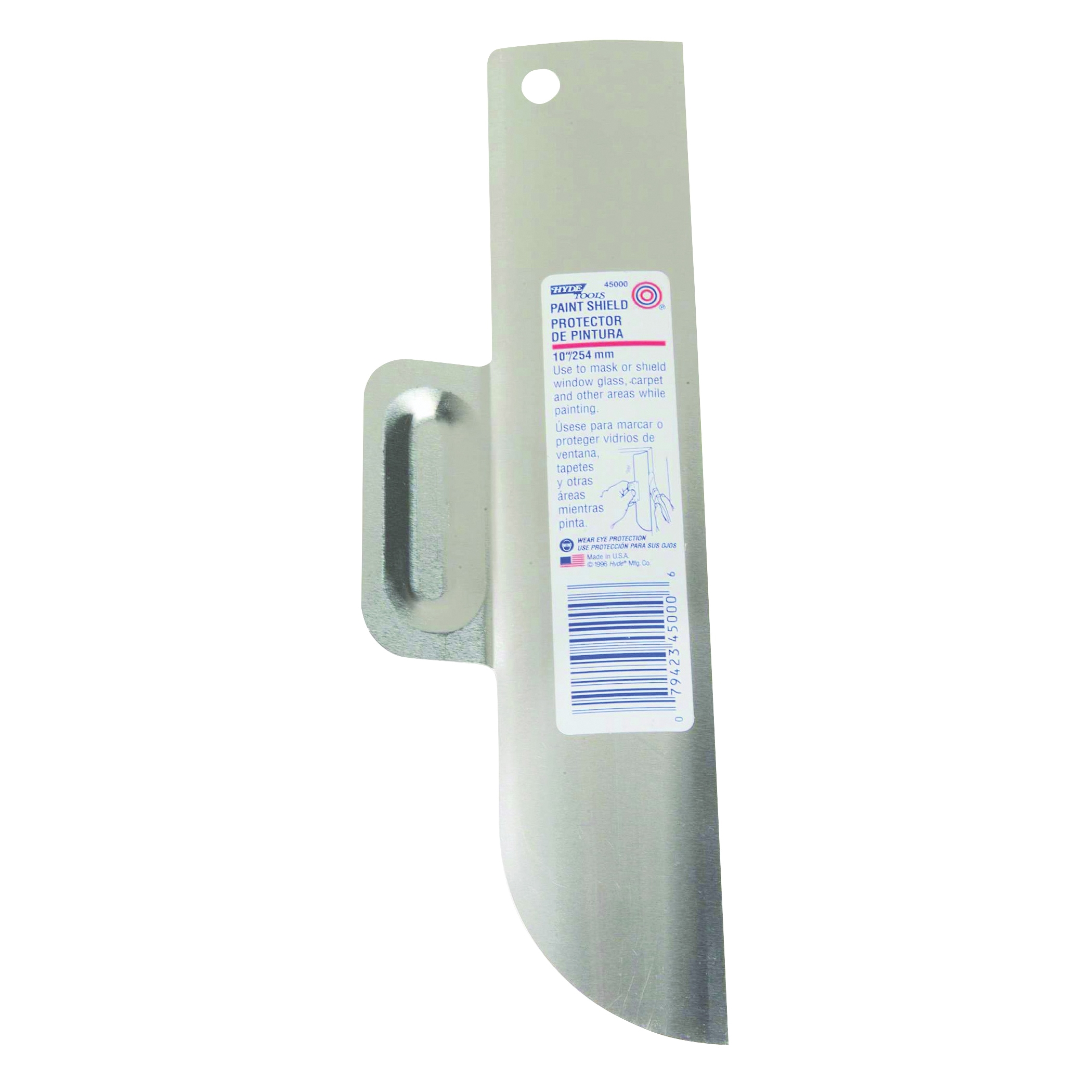 Picture of HYDE 45000 Paint Shield, 10 in Blade, Offset Handle