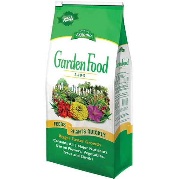 Picture of ESPOMA GF5105/6 Garden Food, Granular, 6.75 lb Package, Bag