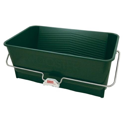 Picture of WOOSTER Wide Boy 8614 Paint Bucket, 5 gal Capacity, Polypropylene, Green, Comfort-Grip Handle