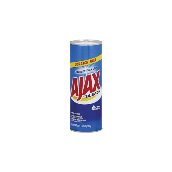 Picture of Ajax 5375 Bathroom Cleaner, 21 oz Package, Powder, Floral, White
