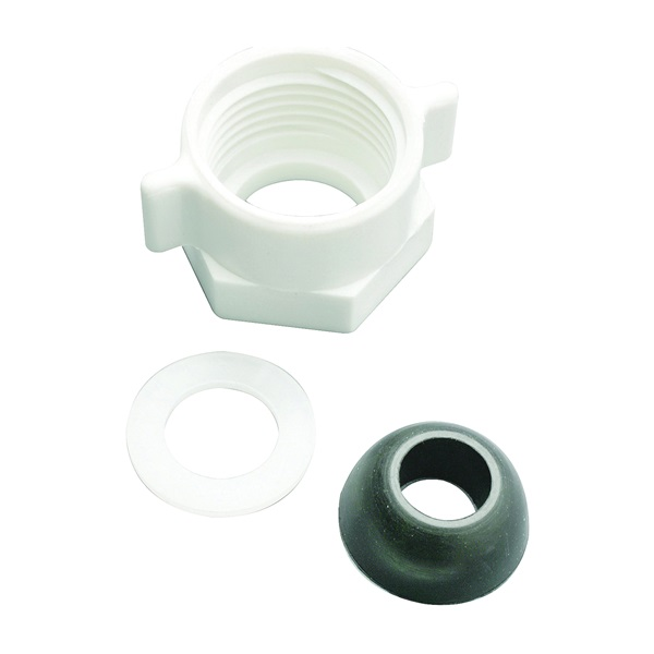 Picture of Plumb Pak PP23549 Ballcock Coupling Nut with Cone Washer, 5/8 in, Plastic