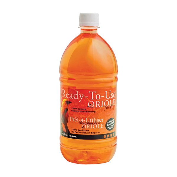 Picture of Perky-Pet 4501-4 Ready-to-Use Oriole Food, Liquid, Citrus Flavor, 1 L Package, Bottle