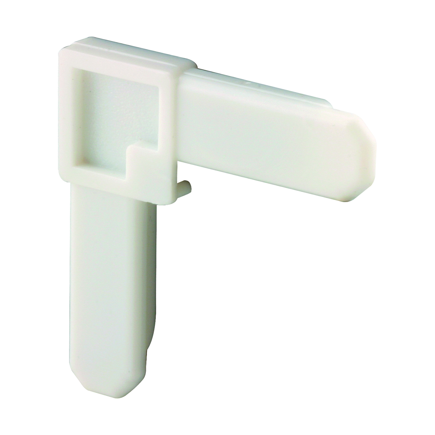 Picture of Make-2-Fit PL 7729 Screen Frame Corner, Square Cut, Plastic, White, 4, Carded