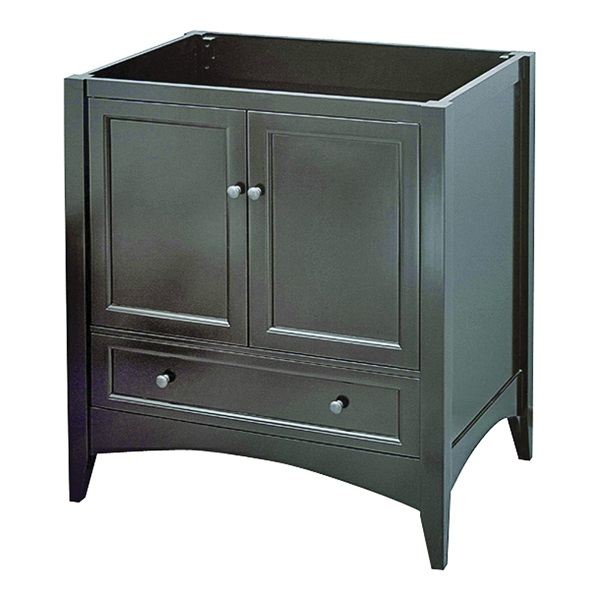 Picture of Foremost Berkshire BECA3021D Bathroom Vanity, Wood, Espresso, Free-Standing Installation, 1-Drawer