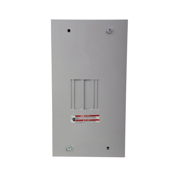 Picture of Cutler-Hammer BR Series BR24L70FP Load Center, 70 A, 2-Space, 4-Circuit, Main Lug, NEMA 1 Enclosure, Light Gray