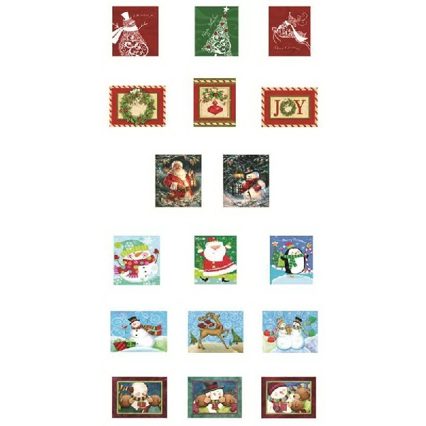 Picture of Santas Forest 69631 Nested Gift Box