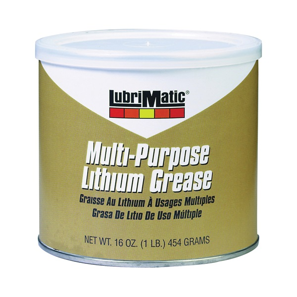 Picture of LubriMatic 11316 Grease, 16 oz Package, Can, Slight Hydrocarbon, Black