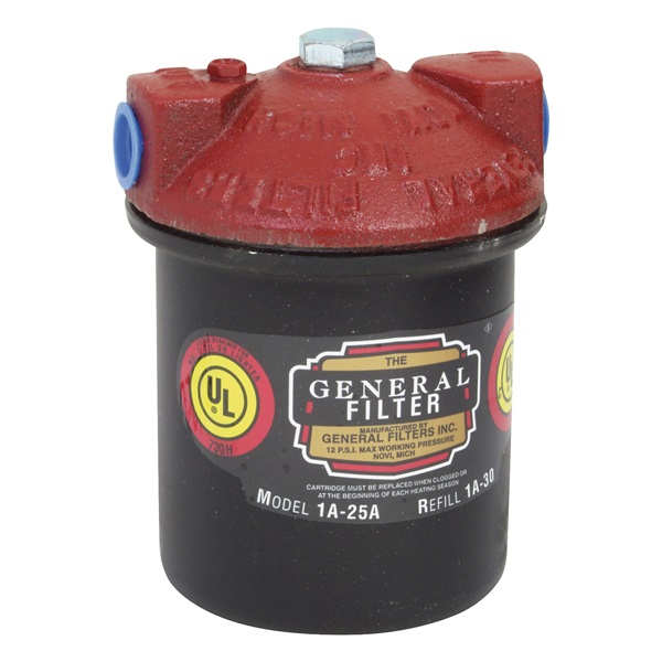 Picture of General Filters 1A-25B Oil Filter, 3/8 in Connection, NPT
