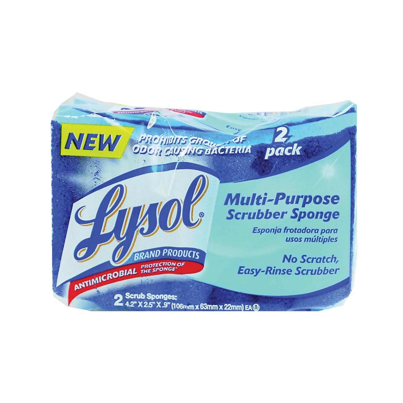 Picture of Quickie Lysol 57506-2CAN Multi-Purpose Scrub Sponge