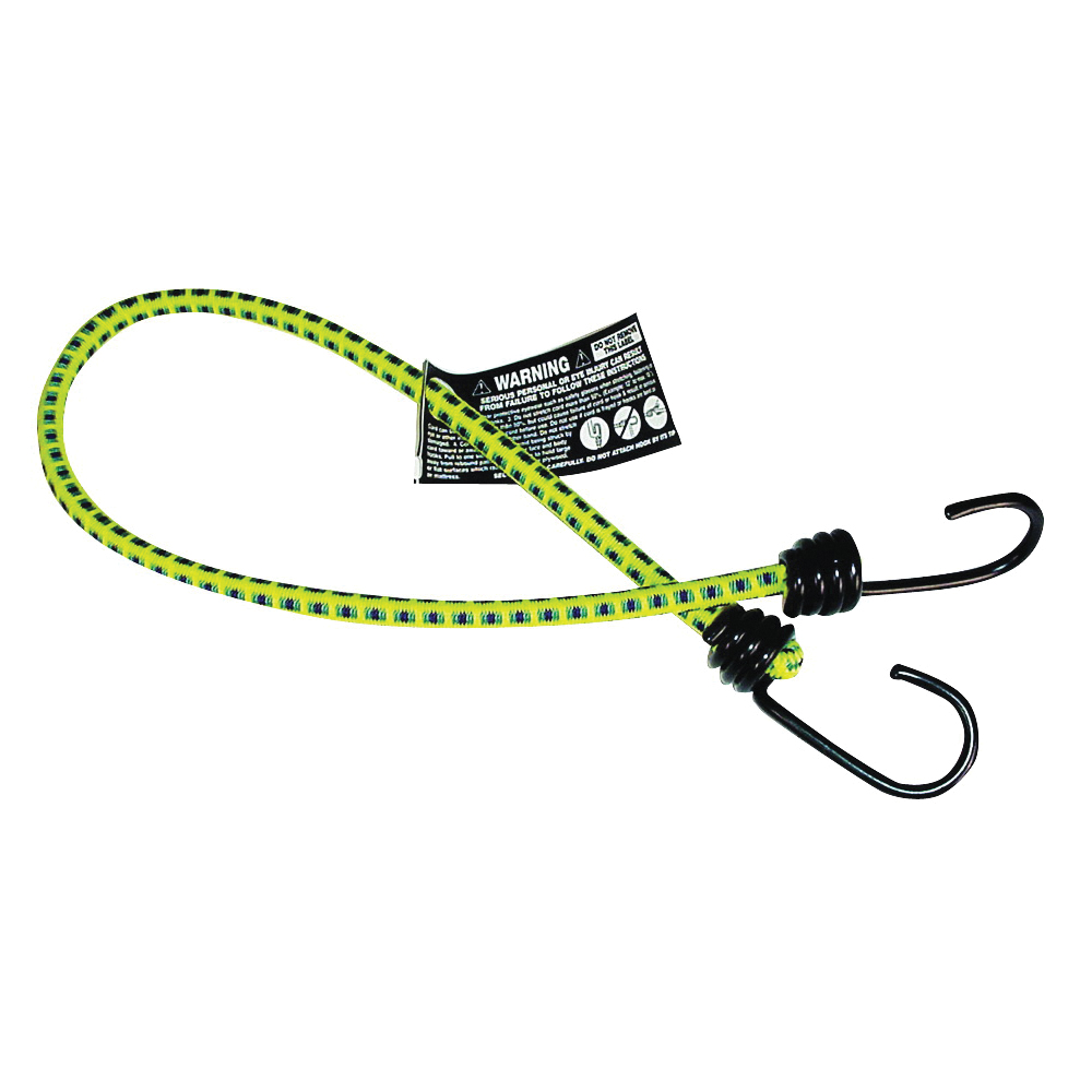 Picture of KEEPER 06025 Bungee Cord, 24 in L, Rubber, Hook End
