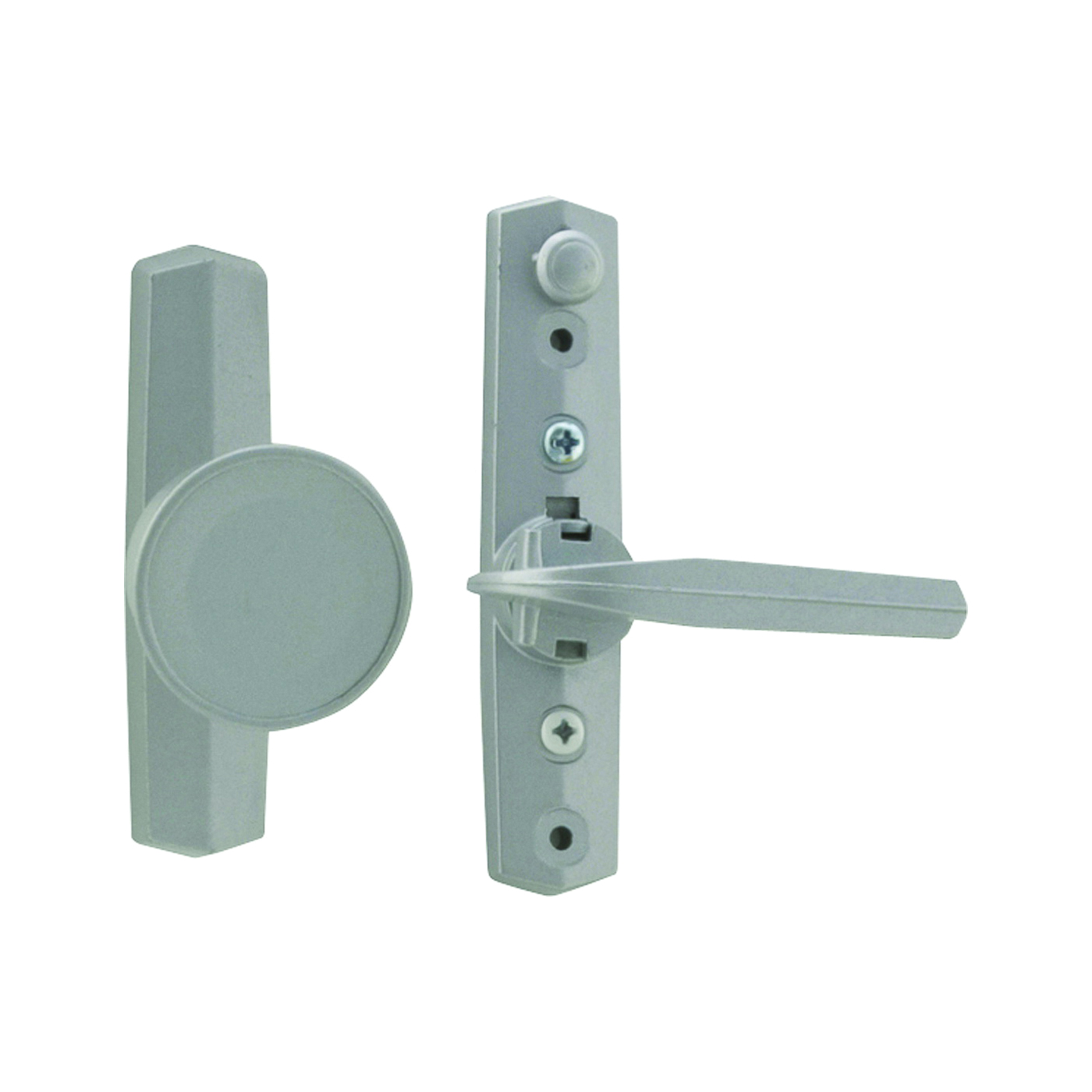 Picture of Wright Products V670 Knob Latch, 3/4 to 1-1/8 in Thick Door, For: Out-Swinging Wood/Metal Screen, Storm Doors